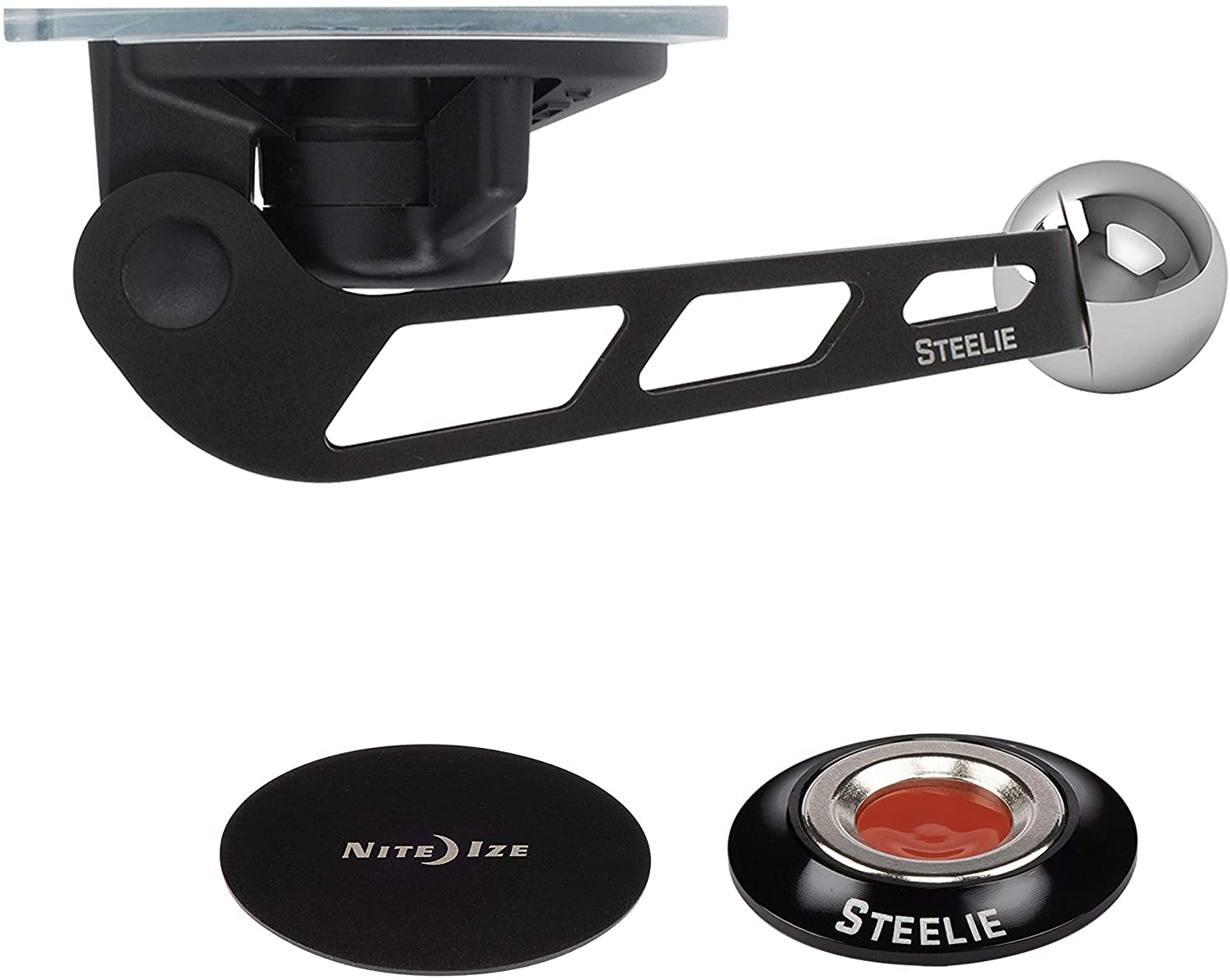 Steelie® Orbiter™ Windshield Kit
