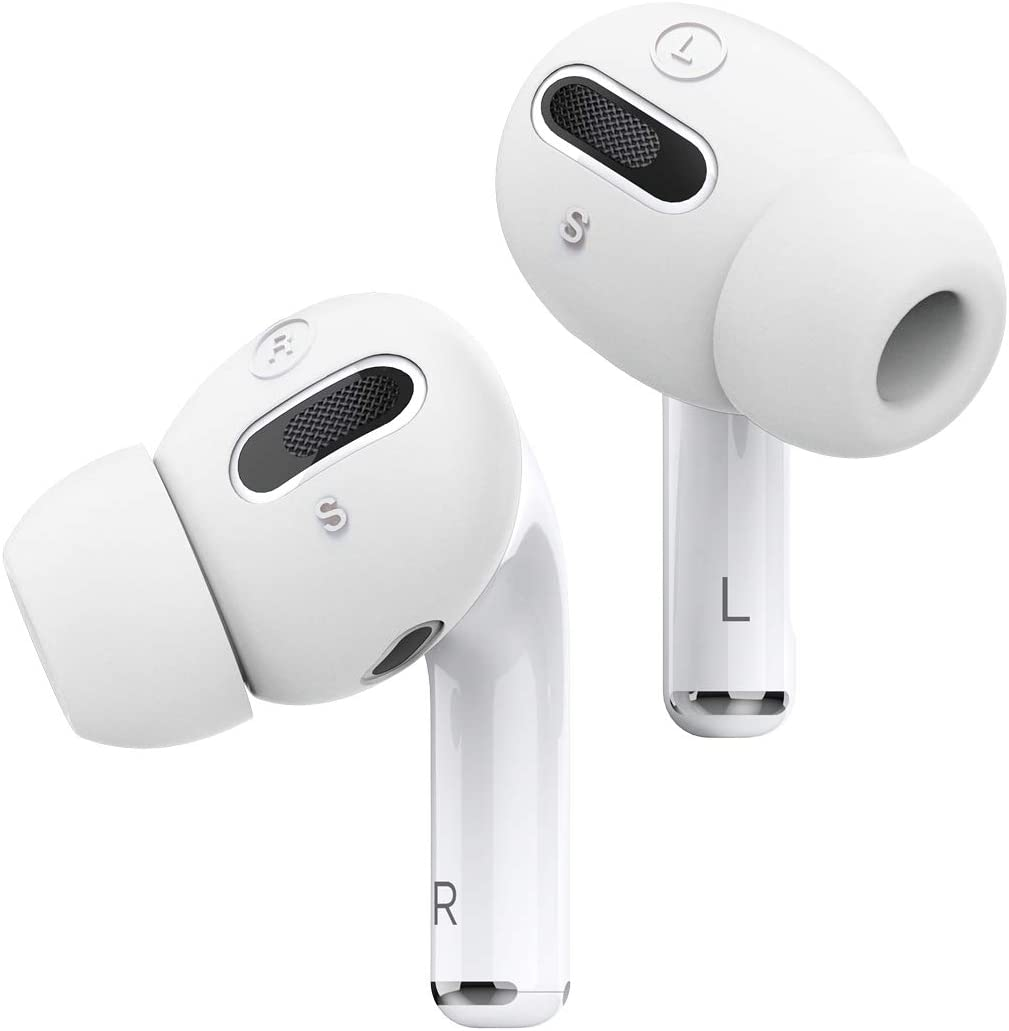 Elago AirPods Pro EarBuds Cover Plus With Integrated Tips -6 Pairs: 2 Large + 2 Medium + 2 Small