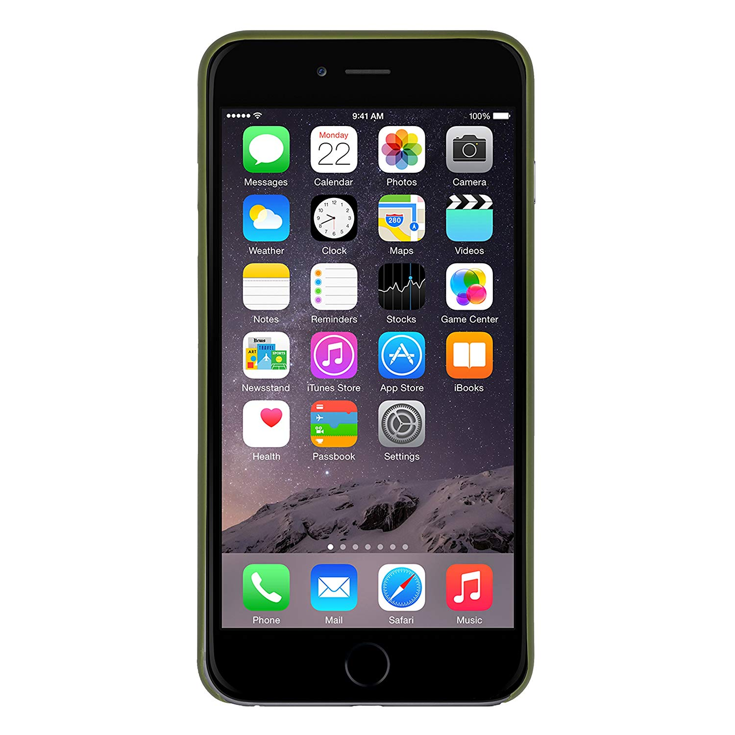 Clic Air - iPhone 6Plus/6S Plus - Olive