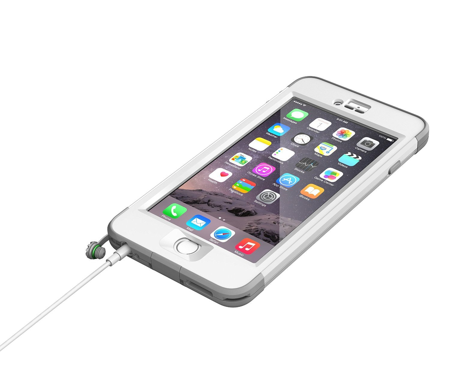 LifeProof Nuud for Apple iPhone 6 Plus, Avalanche V2 Global 10