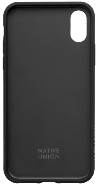 Clic Canvas-iPhone XS Max Case-Black