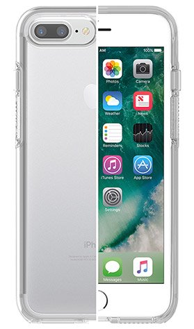 Otterbox iPhone 8/7 Plus Symmetry for - Clear