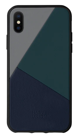 Native Union iPhone XS Clic Marquetry Case