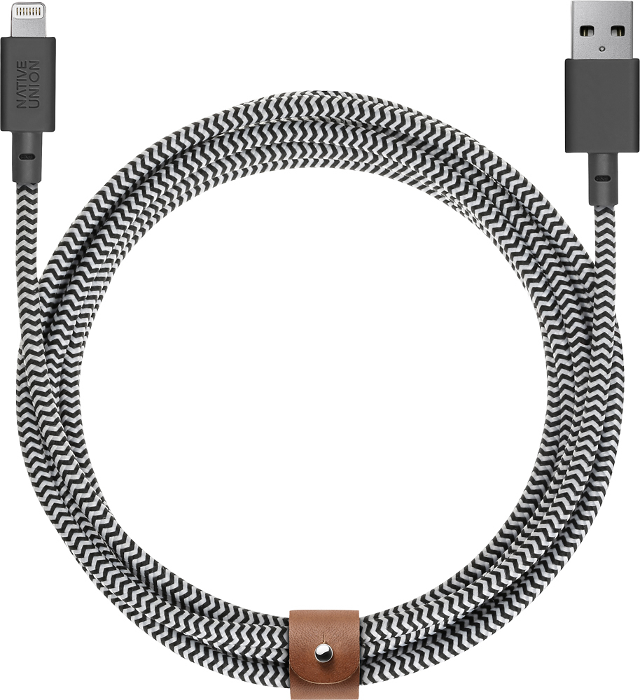 Native Union Belt Cable XL - USB A to Lightning 3M